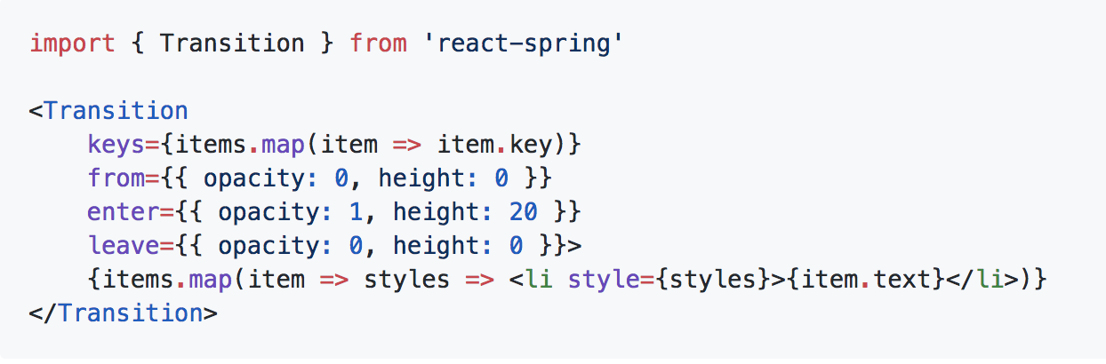 Why React needed yet another animation library  Introducing