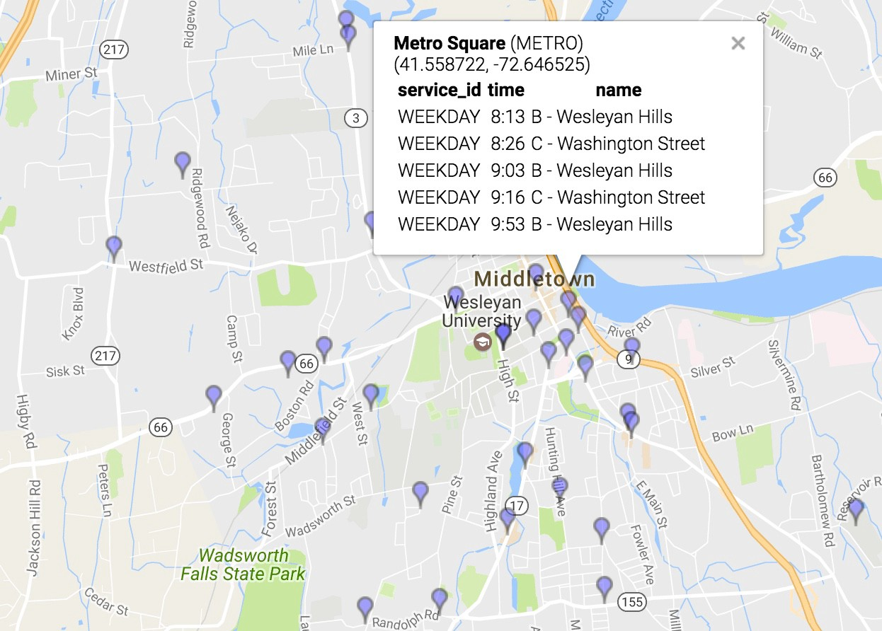 How Middletown and Other Small Transit Agencies Can Appear