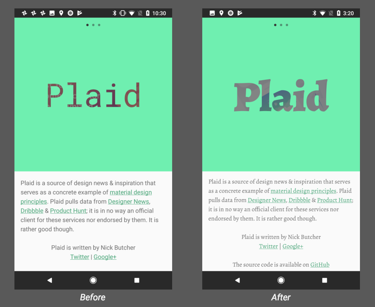 The Android Developer's Guide to Better Typography - Google
