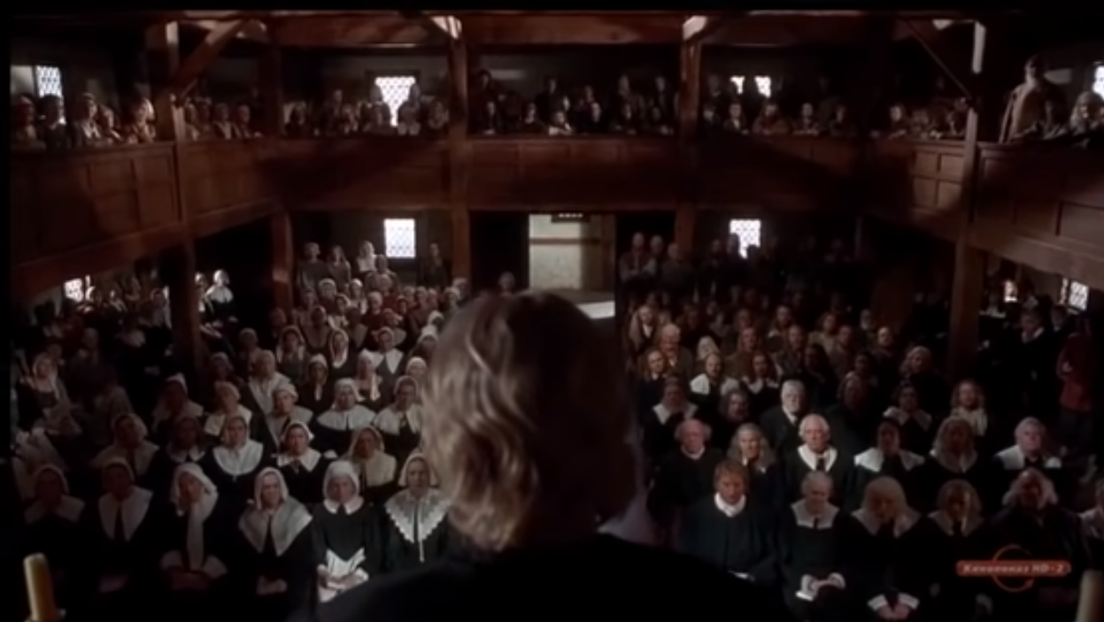 Taken from 'The Crucible' film adaptation.