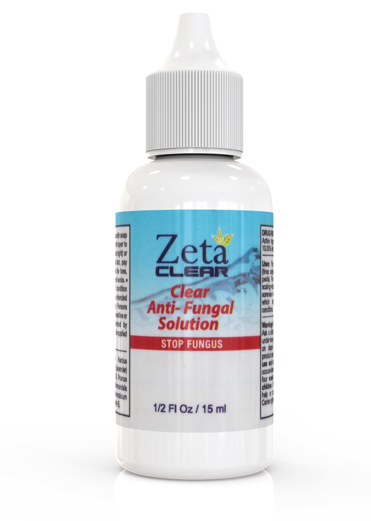 The Zeta Clear Anti Fungal Solution By Fungal Nail Cure Medium