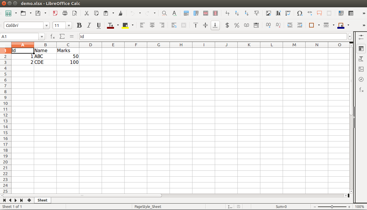 Working with Excel sheets in Python using openpyxl