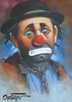 Tears Of A Clown When No One Is Around By Ladonna Crawford Medium