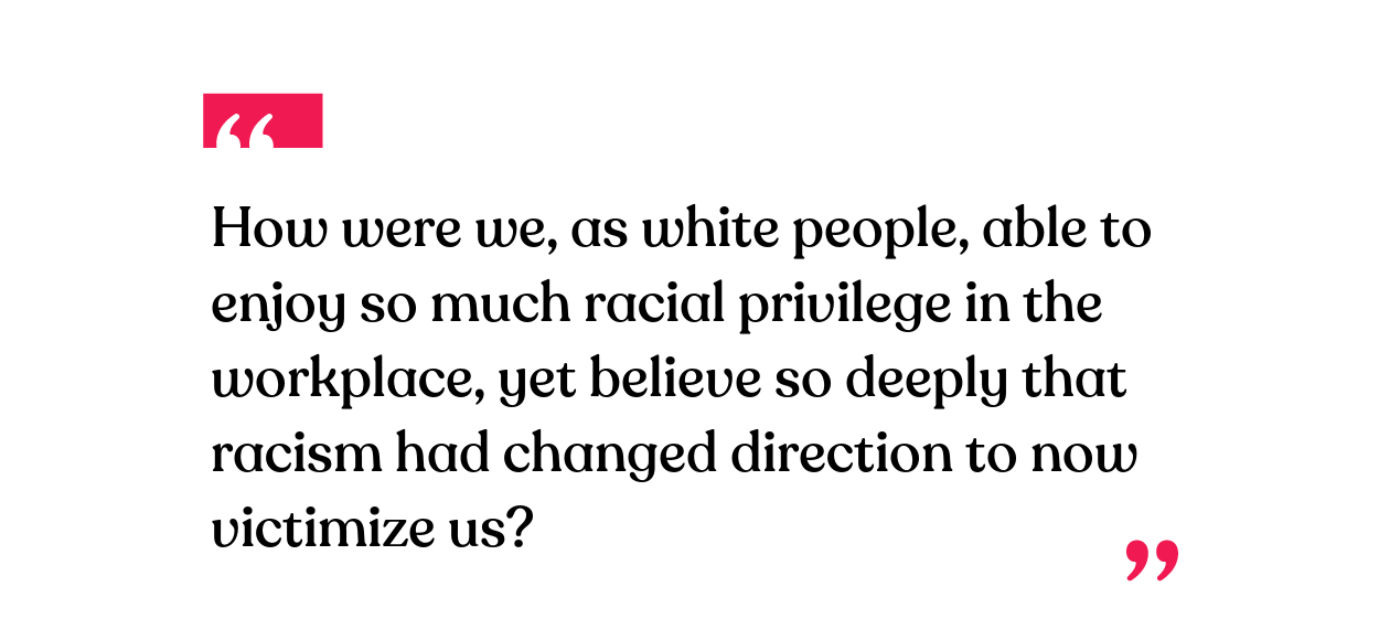 People Do Well If They Can >> Why Are White People So Bad At Talking About Race Bright