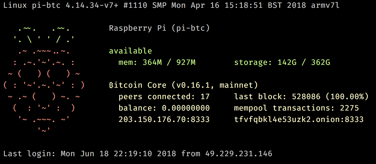 Bitcoin Full Node on RBP3 (revised) - Damian Mee - Medium