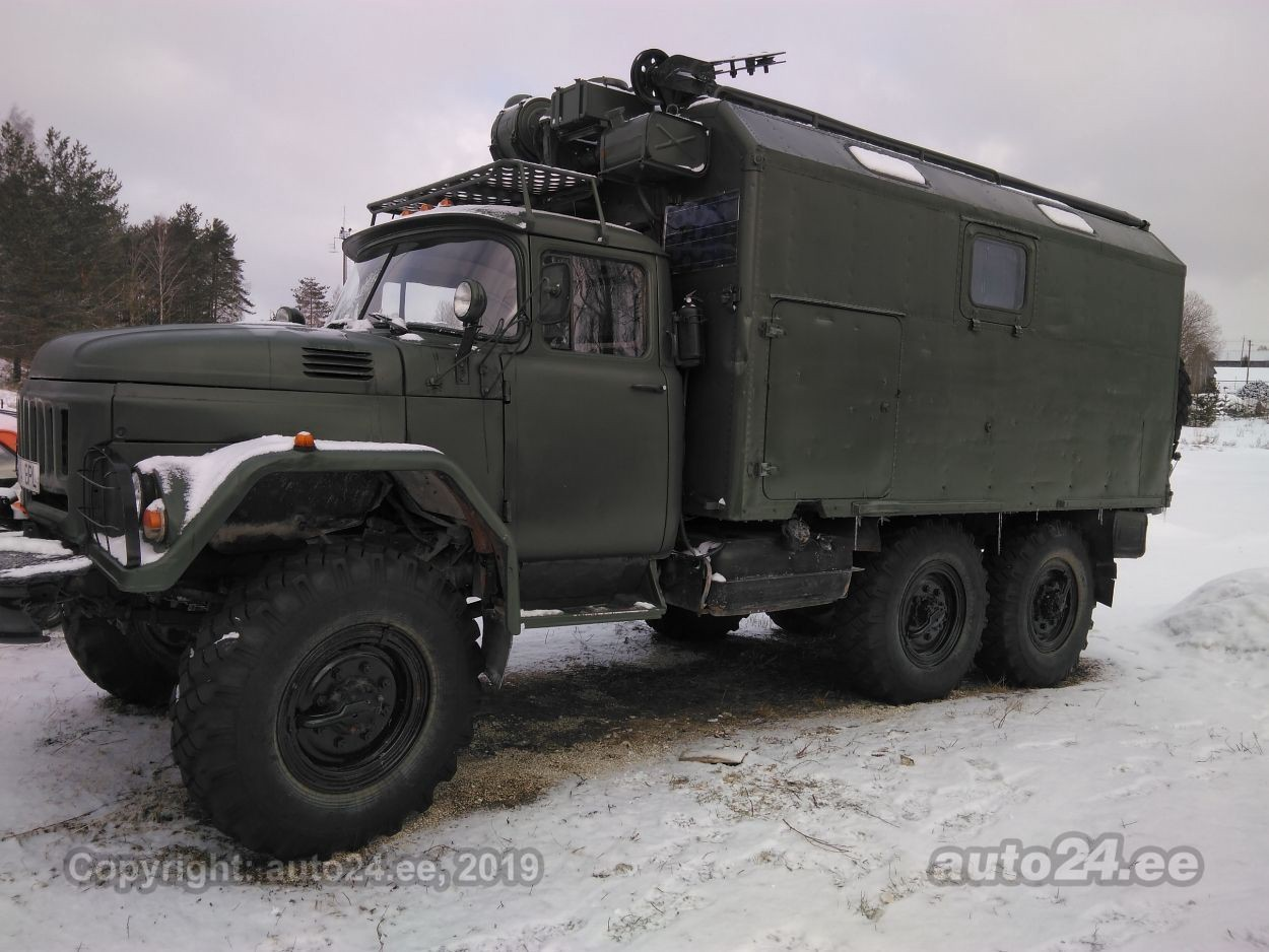 Military Vehicles For Sale >> For Sale One Soviet Army Truck Converted Into An Estonian Sauna