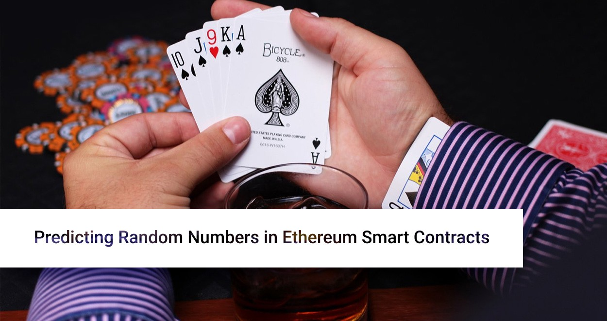 Predicting Random Numbers in Ethereum Smart Contracts