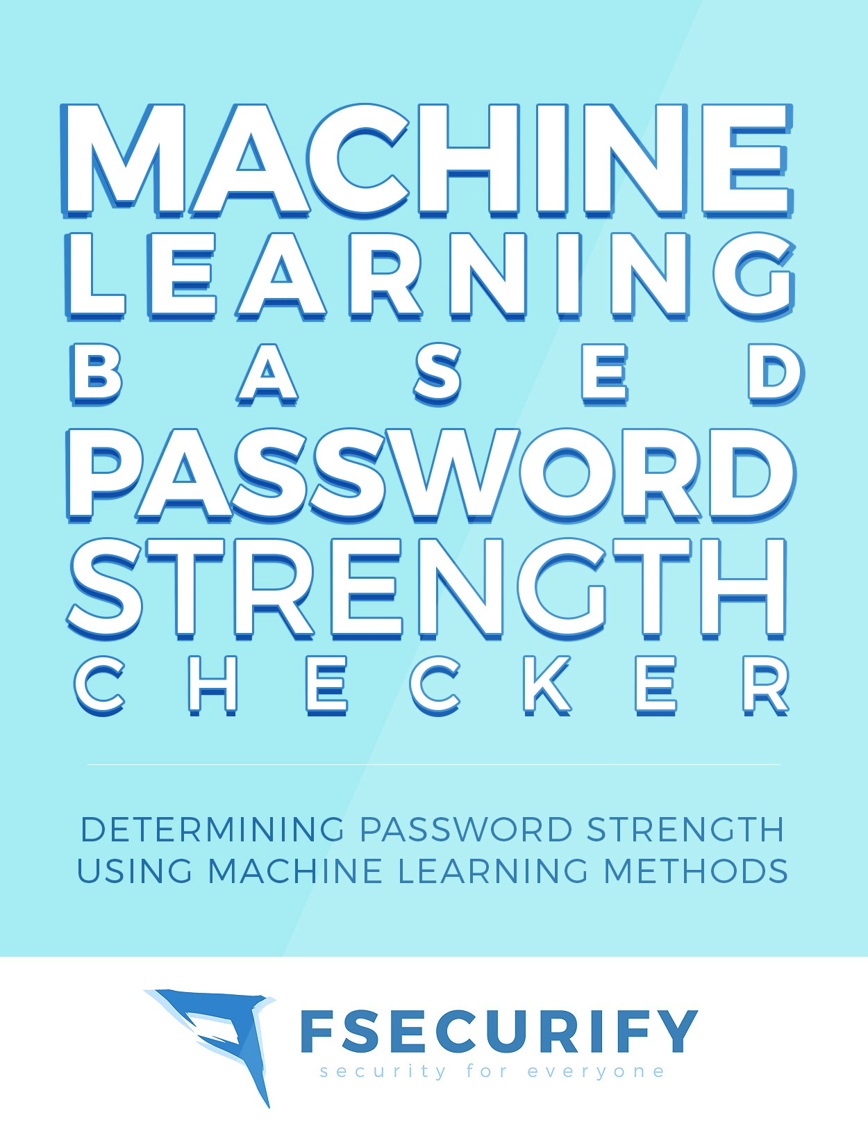 Machine Learning based Password Strength Classification