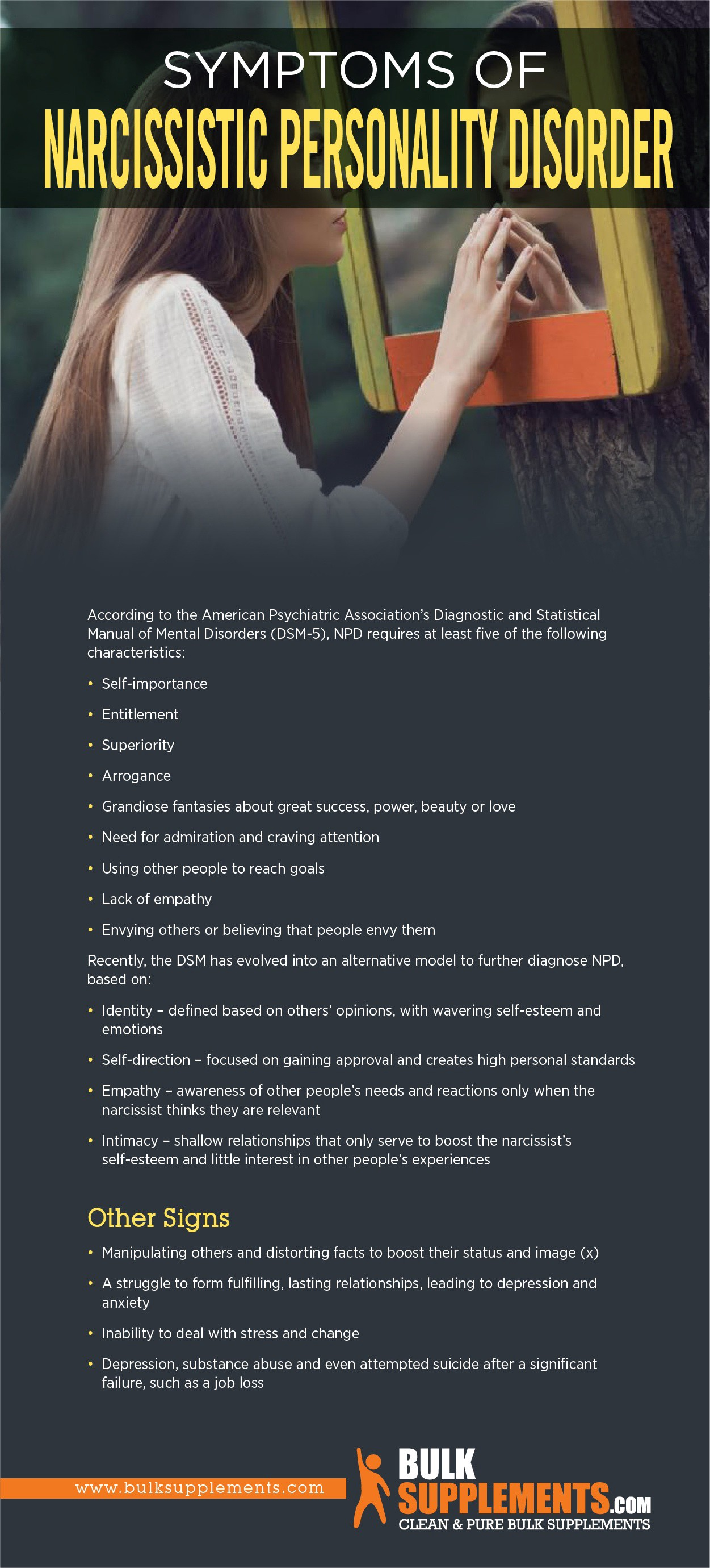 Narcissistic Personality Disorder (NPD): Symptoms, Causes