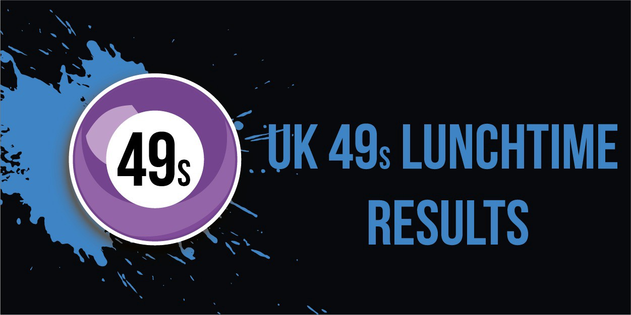 Latest UK 49s Lunchtime Results 2019 — UK 49s Results   by Johns   Medium
