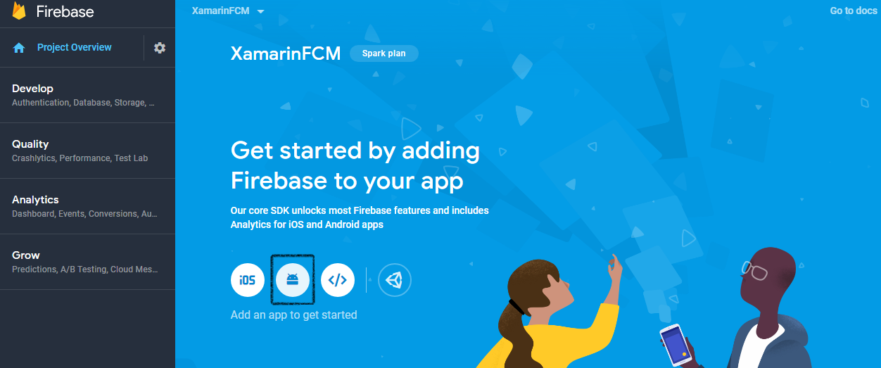 Firebase Cloud Messaging for Remote Push Notifications on