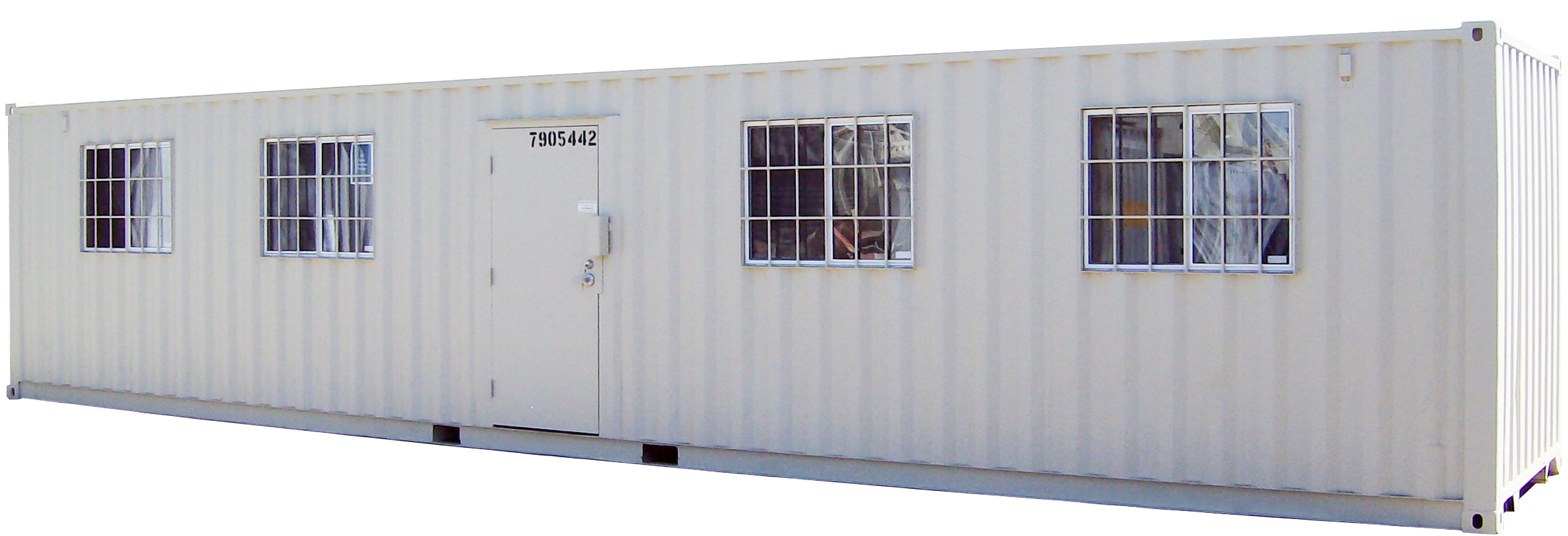 Double-Wide Mobile Office Trailer