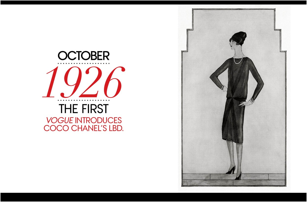 Dresses That Ruled The 1920 S 1 Chanel S Little Black Dress By Smruti Gupta Medium