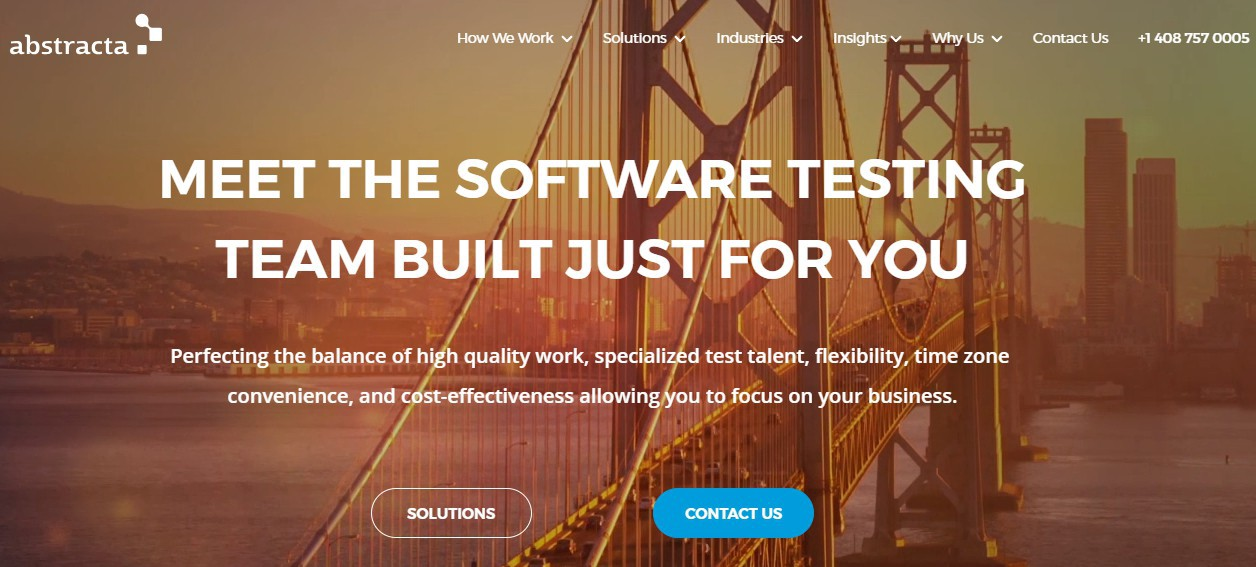 Abstracta—Your Nearshore Software Testing Team