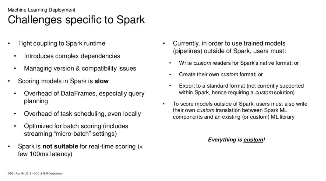 Deploying PySpark ML Model on Google Compute Engine as a