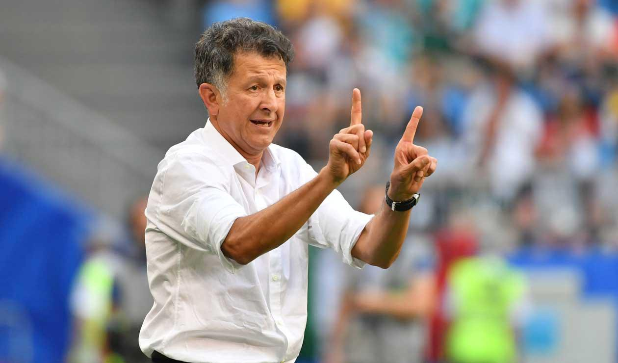 Mexico's National Football team coach, Juan Carlos Osorio