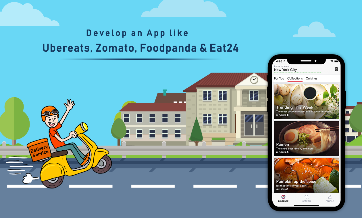 Cost Estimation to Develop an App like Uber Eats
