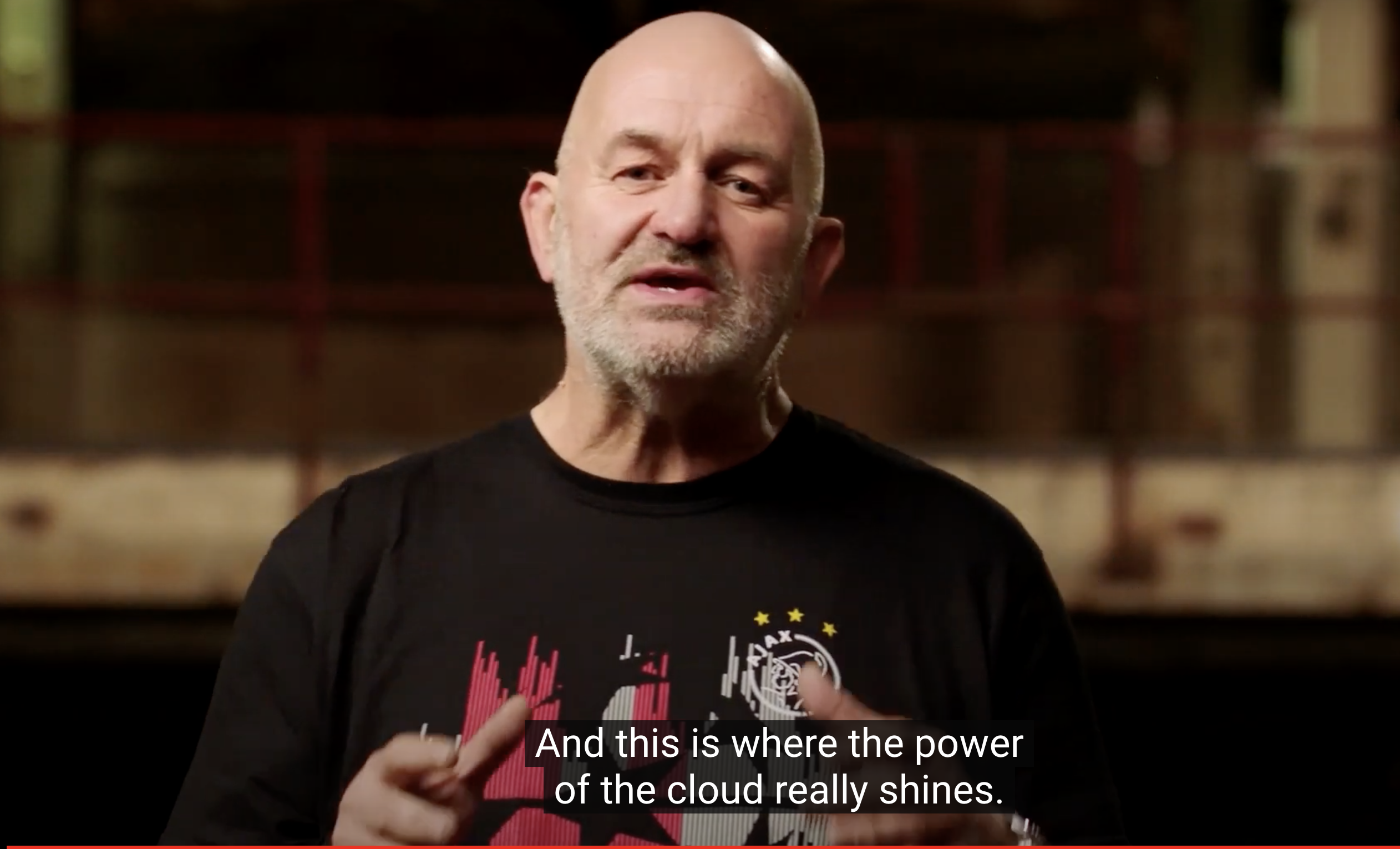 Werner Vogels, the cloud is more powerful