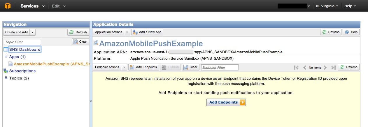 A Guide to Amazon Simple Notification Service Mobile Push