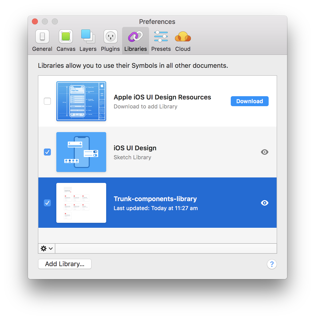 An Intro To Sketch Libraries In Trunk By Elliott Risby Trunk Medium