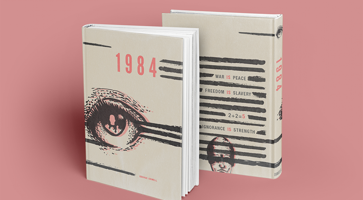 """George Orwell's Enlightening and Modern """"1984"""" - Howard Chai"""