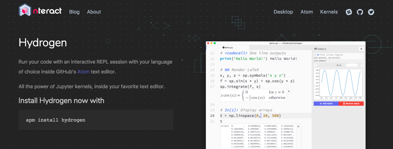 Make Coding Easier with Hydrogen - Read, Write, Participate