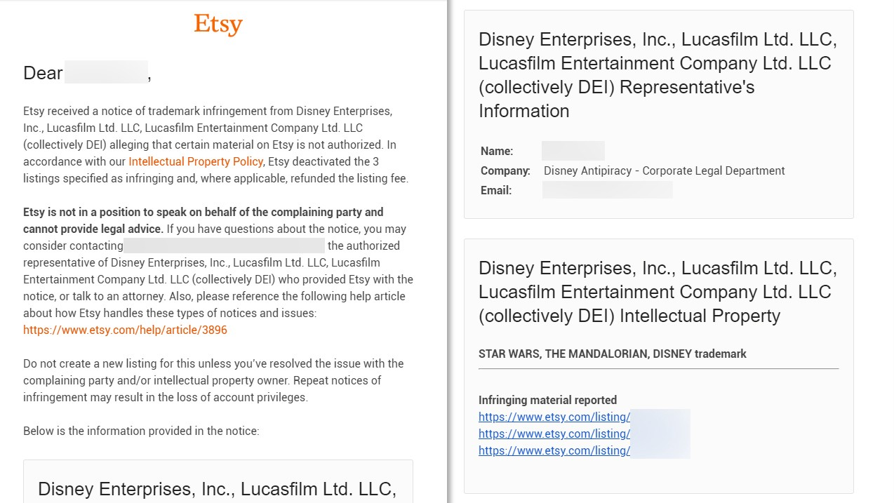 How Etsy Handles Copyright Infringement Onezero