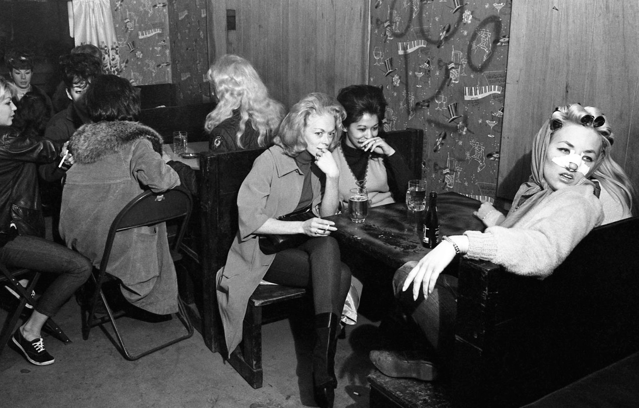 The women of the Hells Angels were bad, brassy, bombshell