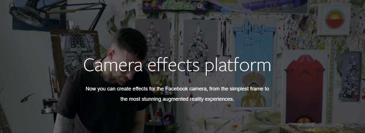 Create your own camera effects at Facebook - Pranavathiyani