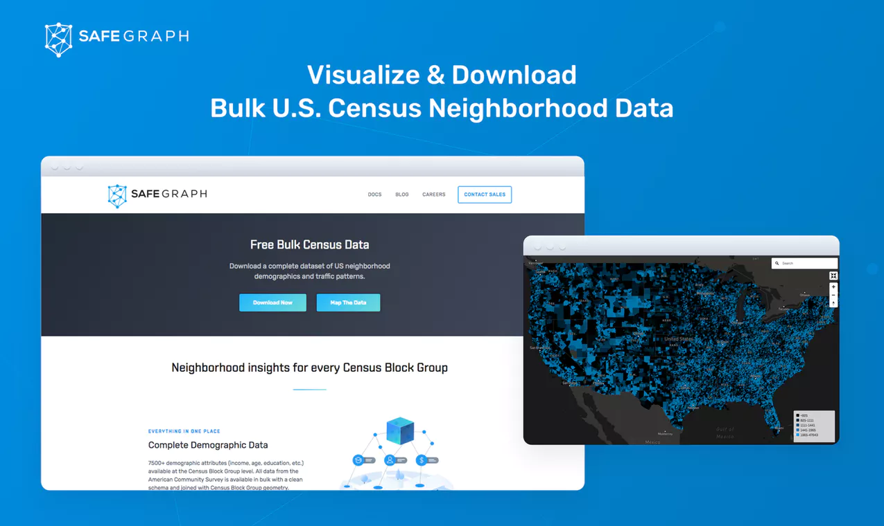 Download Open Census Data & Visualize Neighborhood Insights
