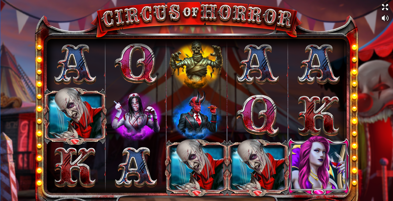 Circus of Horror スロット