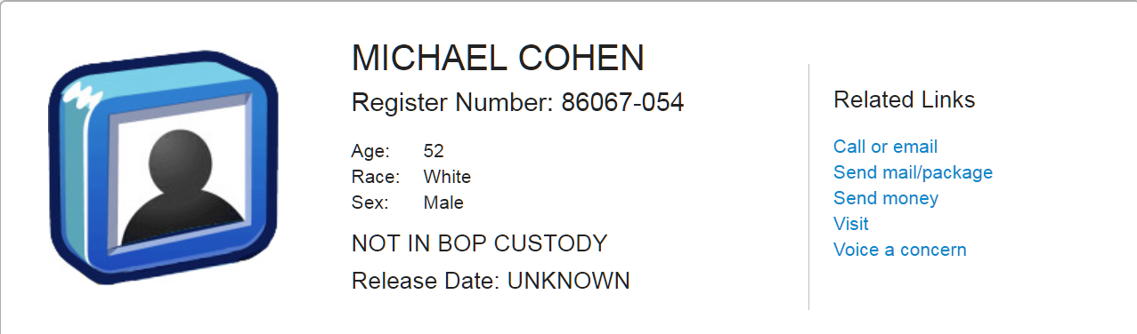 This is the Life That Awaits Michael Cohen - The Startup