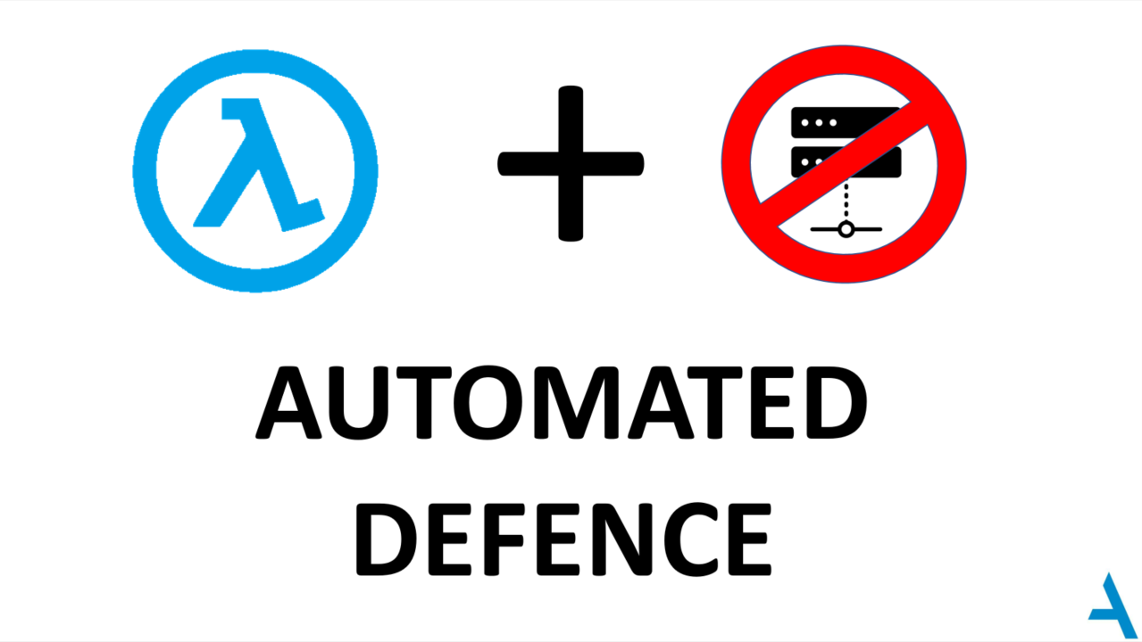 Automated Defense using Serverless Computing - Appsecco