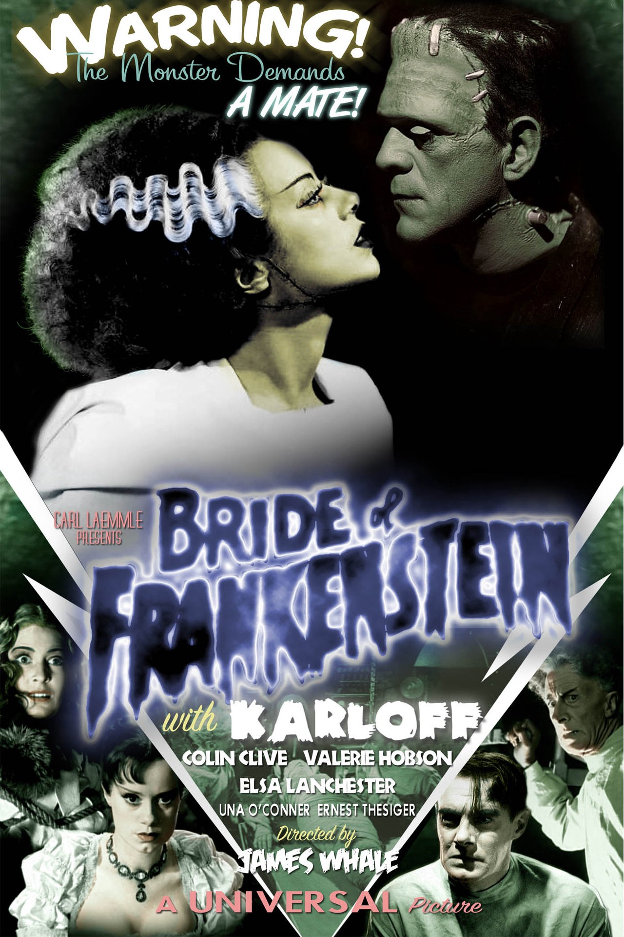 """Classic 30s Movie: """"Bride of Frankenstein"""" - Go Into The Story"""