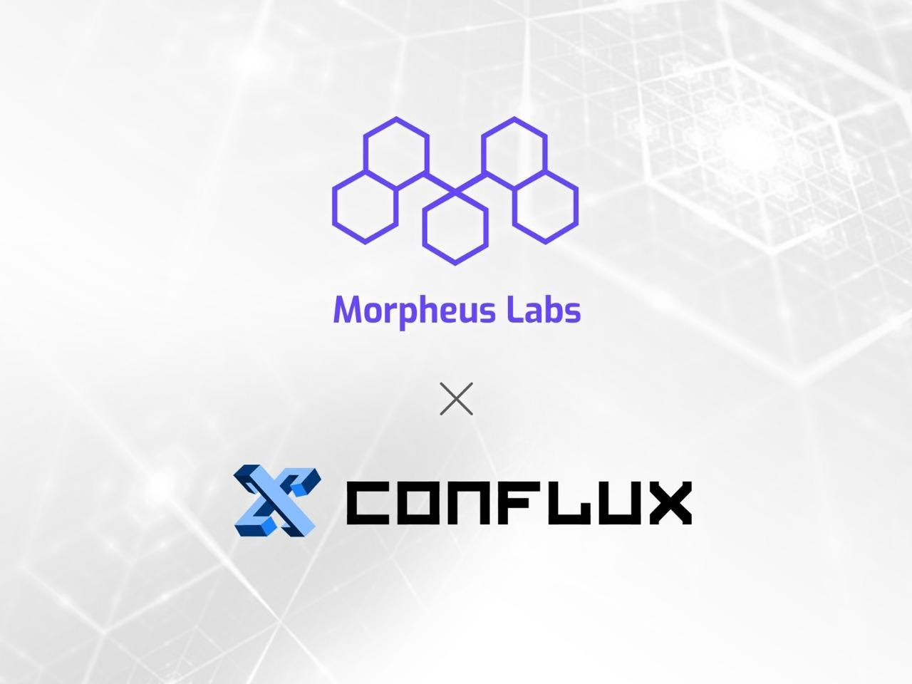 Morpheus Labs and Conflux Network formed a partnership to foster educational and commercial opportunities