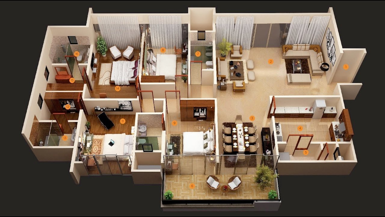 Interior Design 4 Bedroom House By Putra Sulung Medium