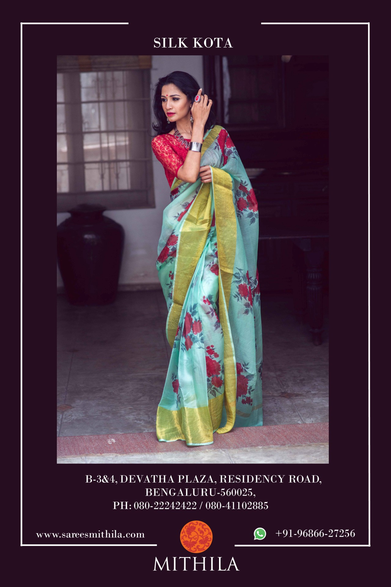 Buy Silk Sarees Online for all occasions from house of