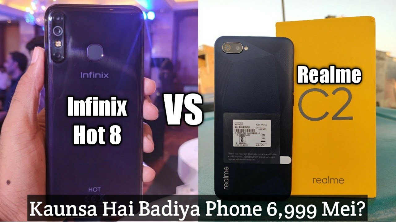 Infinix Hot 8 vs Realme C2: Who's The Real Budget Killer?