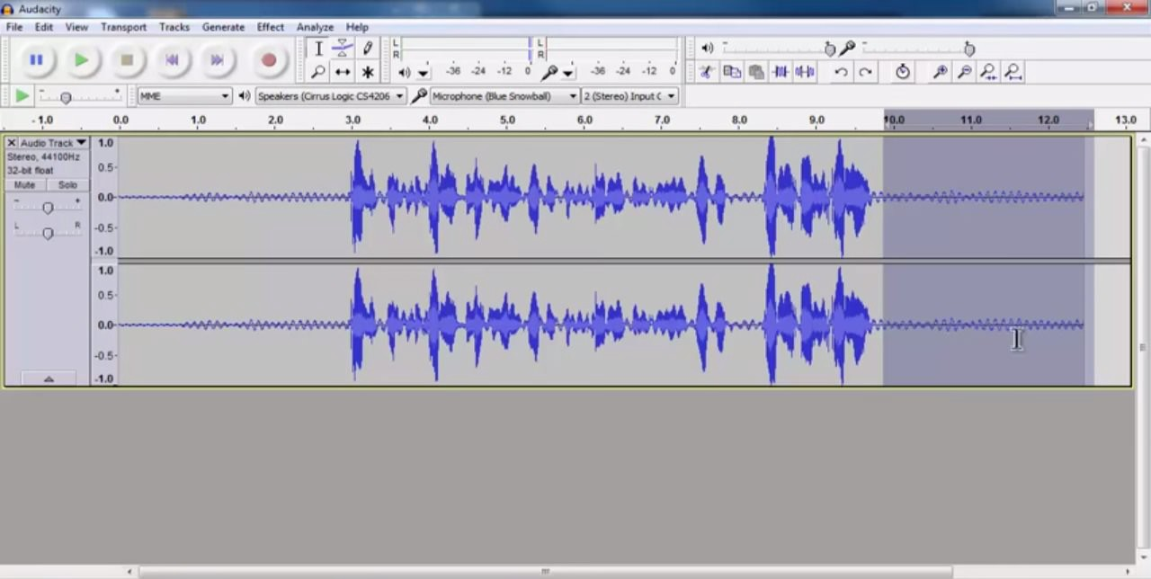 Removing audio noise with Audacity - CompVert - Medium