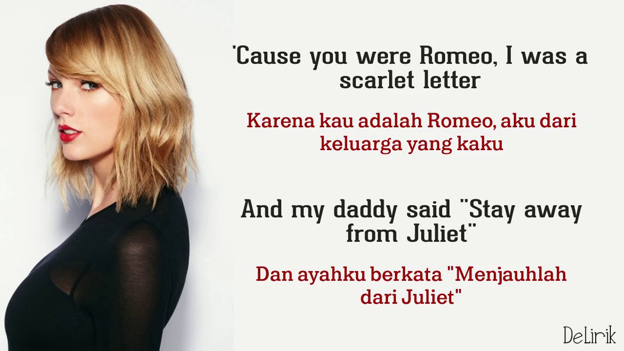 40 Taylor Swift Romeo And Juliet Lyrics Pictures The Taylor Swift