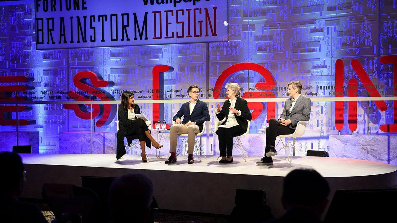 Brainstorm Design 2019: Redesigning with Design (photo by Fortune.com)