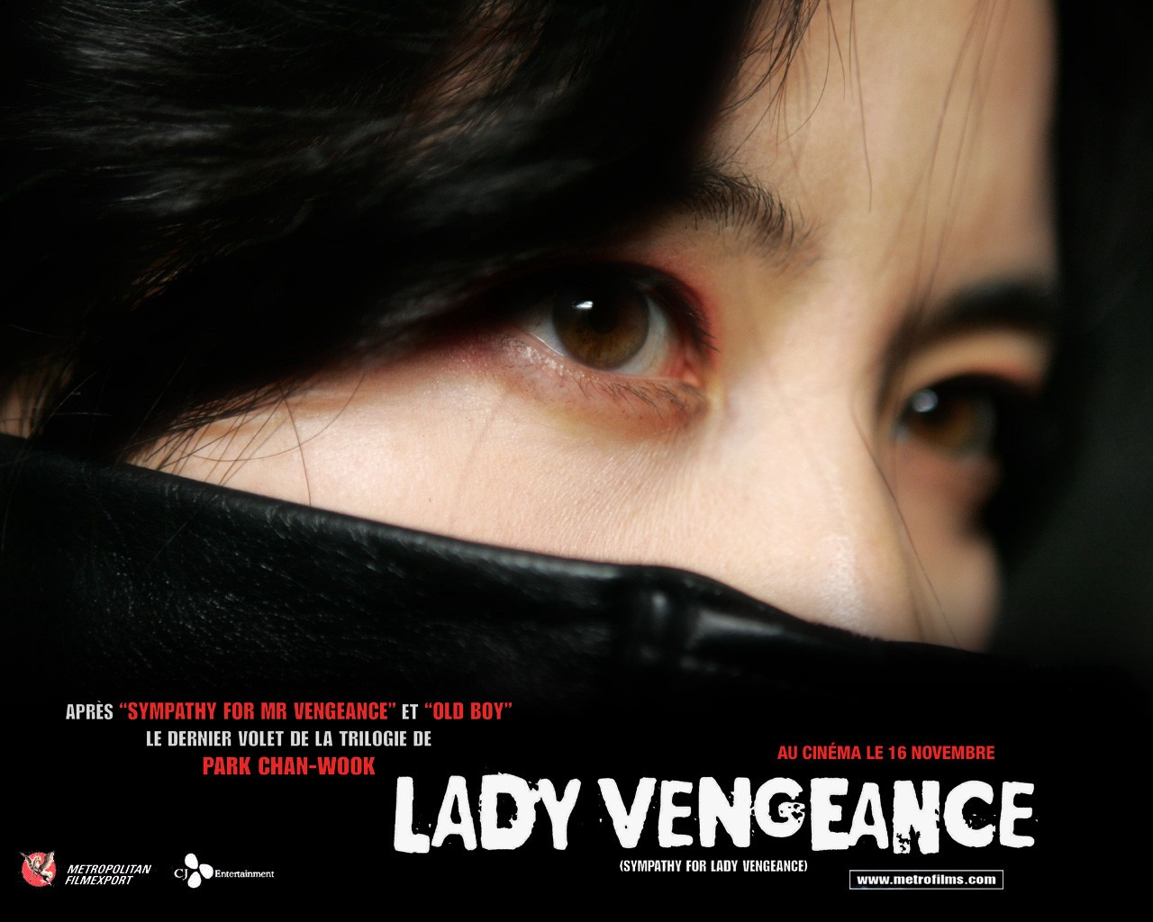 Classic International Movie Lady Vengeance Go Into The