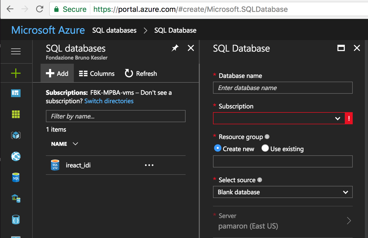 Deploy a Django application connected to Azure SQL using