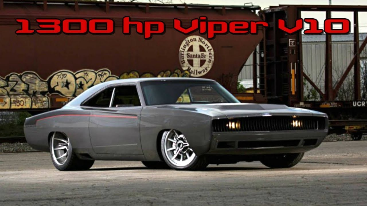 1300 Hp Dodge Charger Custom Build Restomod Project By Topspeed One Medium
