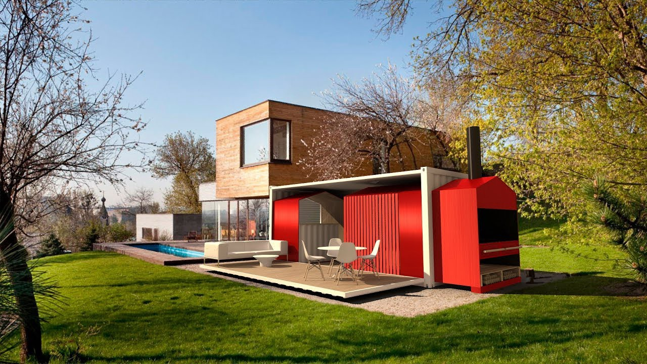 Modern Shipping Container Home modern houses | shipping container homes | incredible ideas