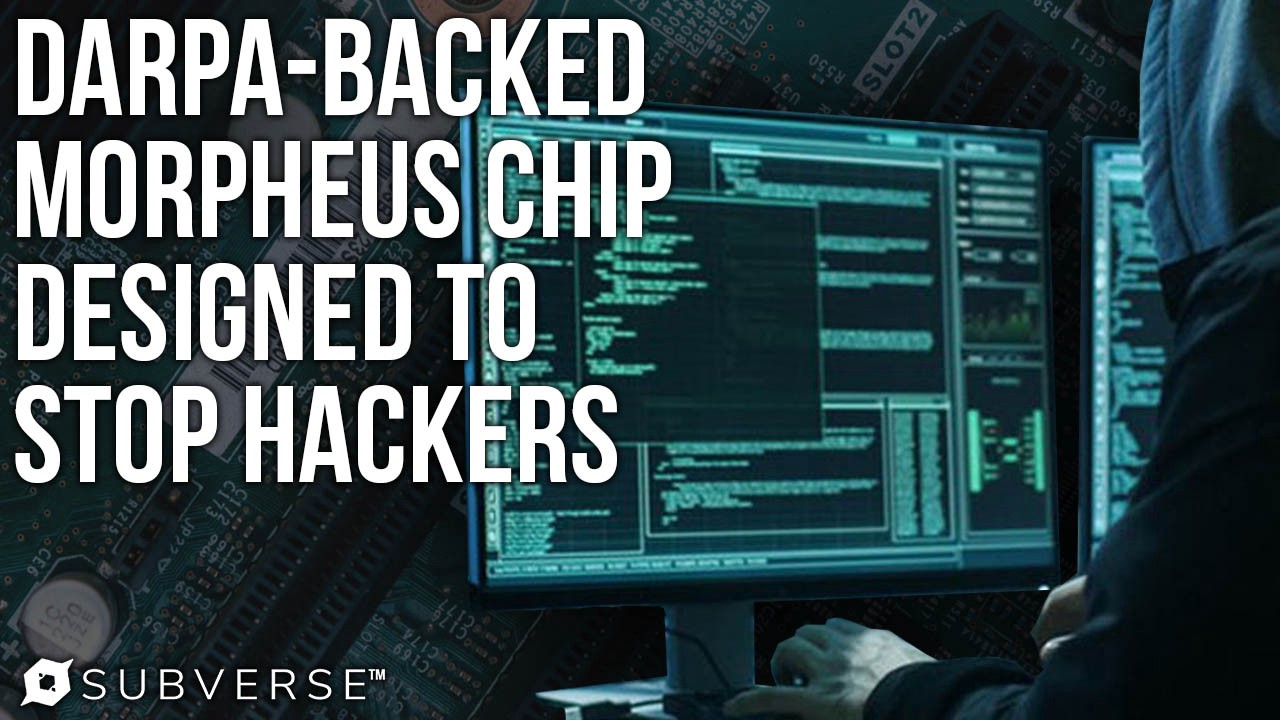 Code Scrambling MORPHEUS Microchip Defends Against Cyberattacks