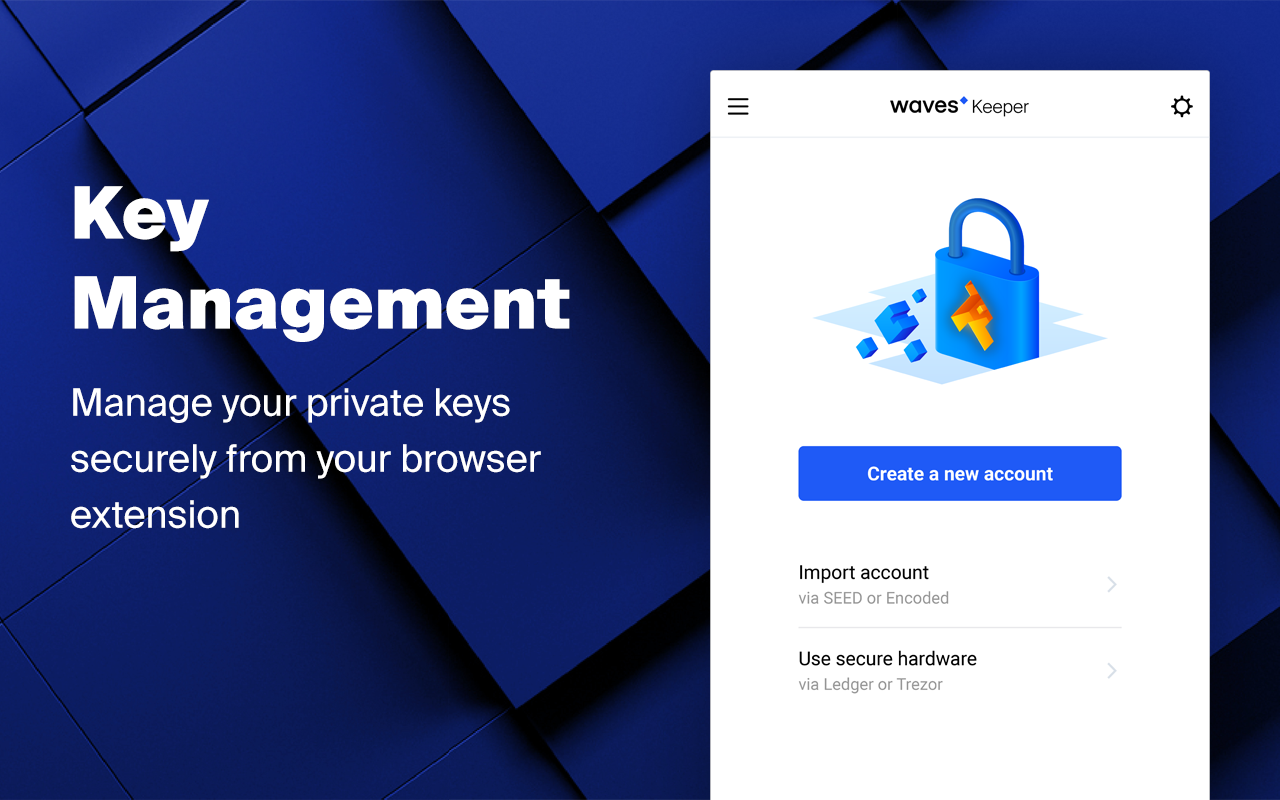 Waves Keeper Now Available In Chrome Web Store - Waves Platform
