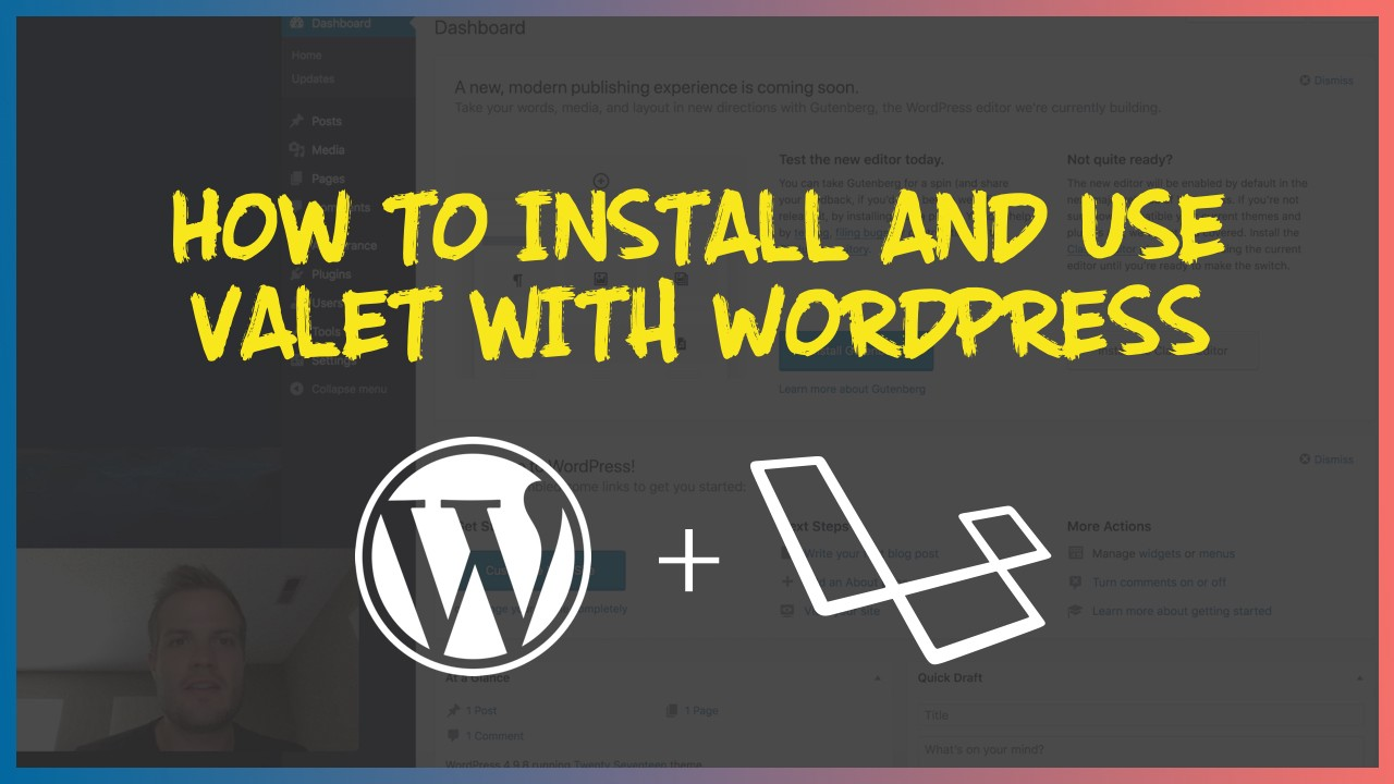 How to Install and Use Valet with WordPress - The Web-Crunch