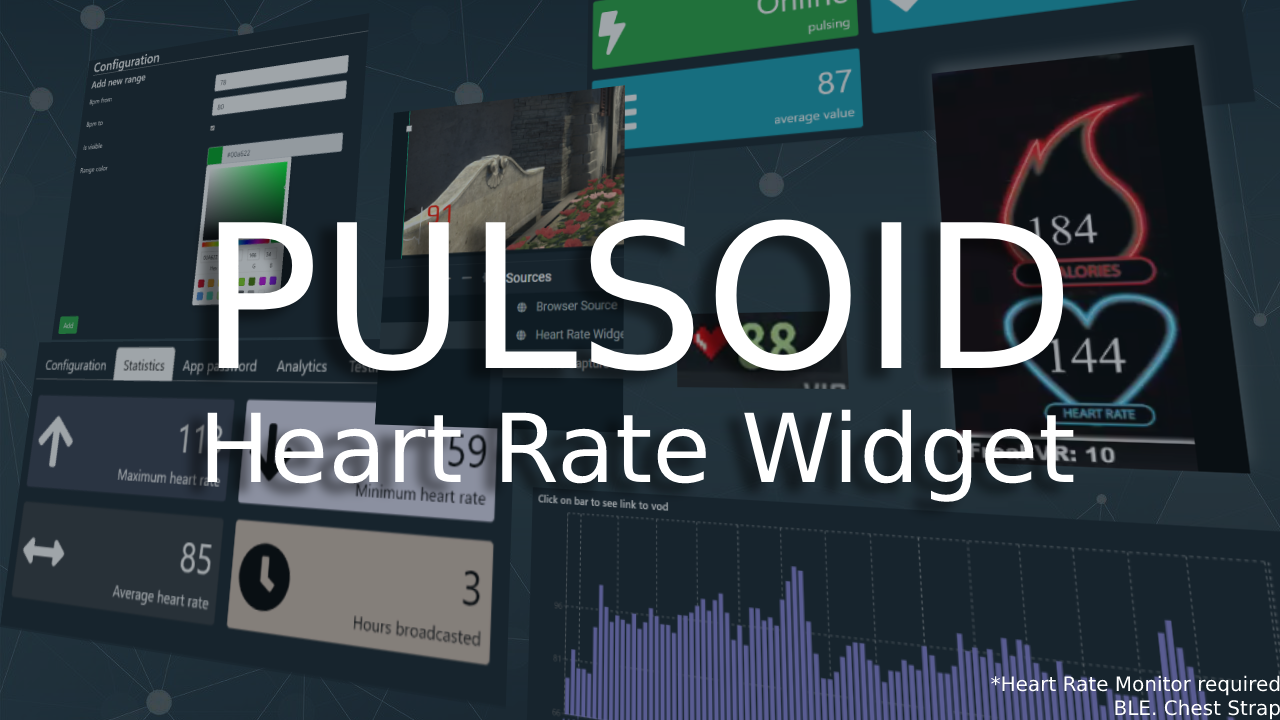 How To Add Real Heart Rate To Stream - Heart Rate Widget