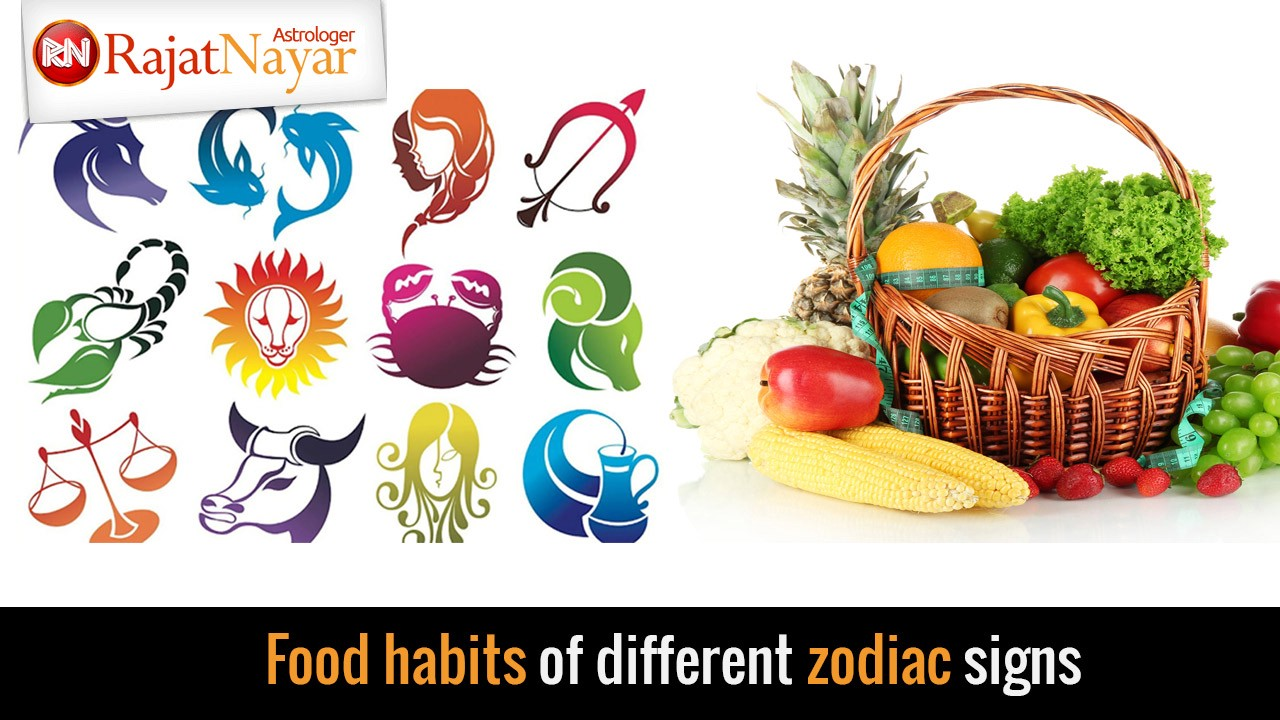 Food habits of different zodiac signs